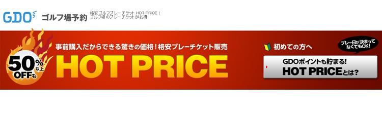 ②GDO HOT PRICE