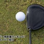 ゴルフのドライバー飛距離ランキング!プロの成績&ドライバー紹介